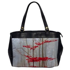 Magic Forest In Red And White Office Handbags by wsfcow