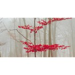 Magic forest in red and white Magic Photo Cubes Long Side 2