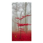 Magic forest in red and white Shower Curtain 36  x 72  (Stall)  33.26 x66.24 Curtain