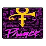 Prince Poster Double Sided Fleece Blanket (Small)