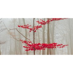 Magic forest in red and white YOU ARE INVITED 3D Greeting Card (8x4) by wsfcow