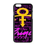 Prince Poster Apple iPhone 6/6S Black Enamel Case