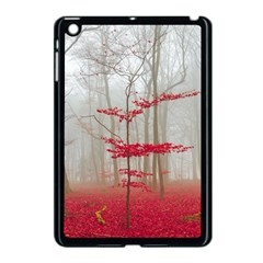 Magic Forest In Red And White Apple Ipad Mini Case (black) by wsfcow