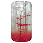 Magic forest in red and white Samsung Galaxy S3 S III Classic Hardshell Back Case Front