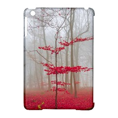 Magic Forest In Red And White Apple Ipad Mini Hardshell Case (compatible With Smart Cover) by wsfcow