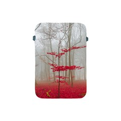 Magic Forest In Red And White Apple Ipad Mini Protective Soft Cases by wsfcow