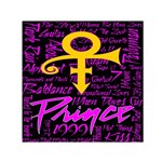 Prince Poster Small Satin Scarf (Square)