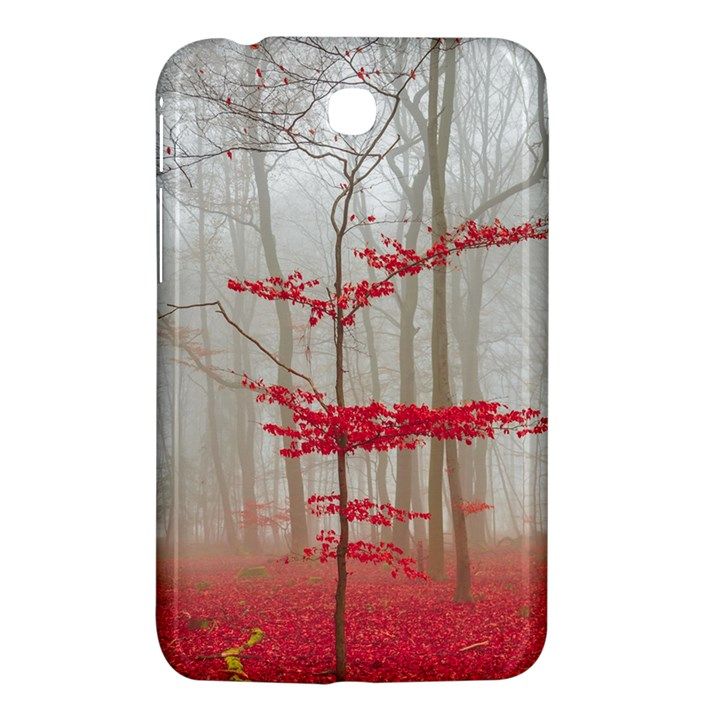 Magic forest in red and white Samsung Galaxy Tab 3 (7 ) P3200 Hardshell Case