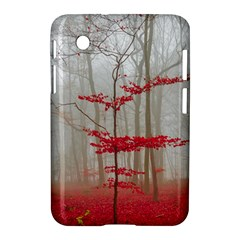 Magic Forest In Red And White Samsung Galaxy Tab 2 (7 ) P3100 Hardshell Case  by wsfcow