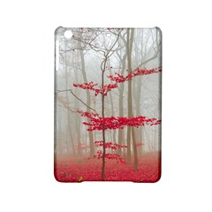 Magic Forest In Red And White Ipad Mini 2 Hardshell Cases