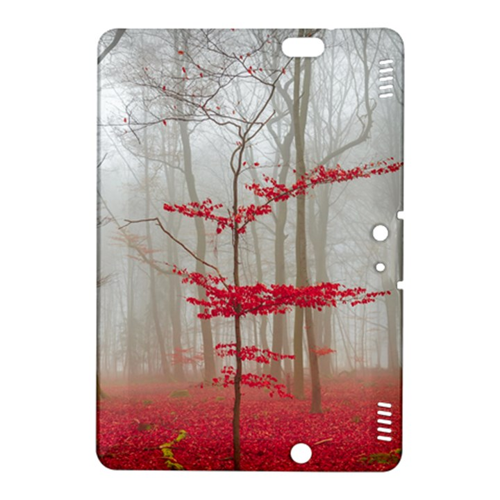 Magic forest in red and white Kindle Fire HDX 8.9  Hardshell Case