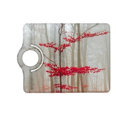 Magic Forest In Red And White Kindle Fire Hd (2013) Flip 360 Case by wsfcow