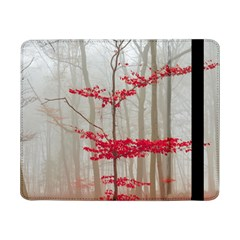 Magic Forest In Red And White Samsung Galaxy Tab Pro 8 4  Flip Case