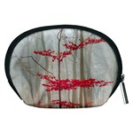 Magic forest in red and white Accessory Pouches (Medium)  Back