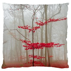 Magic Forest In Red And White Standard Flano Cushion Case (one Side)
