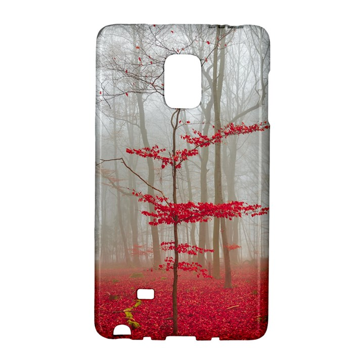Magic forest in red and white Galaxy Note Edge