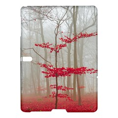 Magic Forest In Red And White Samsung Galaxy Tab S (10 5 ) Hardshell Case  by wsfcow