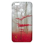 Magic forest in red and white iPhone 6 Plus/6S Plus TPU Case Front