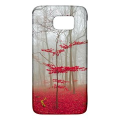 Magic Forest In Red And White Galaxy S6 by wsfcow
