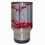 Magic Forest In Red And White Travel Mugs (White) Center