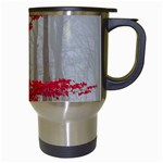 Magic Forest In Red And White Travel Mugs (White) Right