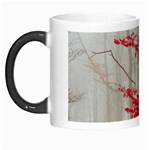 Magic Forest In Red And White Morph Mugs Left