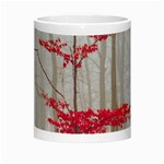 Magic Forest In Red And White Morph Mugs Center