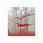 Magic Forest In Red And White Collage Prints 18 x12 Print - 3