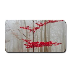 Magic Forest In Red And White Medium Bar Mats by wsfcow