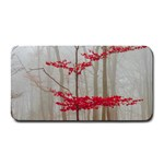 Magic Forest In Red And White Medium Bar Mats 16 x8.5 Bar Mat - 1