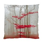 Magic Forest In Red And White Standard Cushion Case (Two Sides) Front