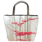 Magic Forest In Red And White Bucket Bags Front