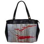 Magic Forest In Red And White Office Handbags Front