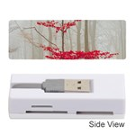Magic Forest In Red And White Memory Card Reader (Stick)
