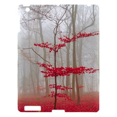 Magic Forest In Red And White Apple Ipad 3/4 Hardshell Case by wsfcow