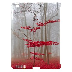 Magic Forest In Red And White Apple Ipad 3/4 Hardshell Case (compatible With Smart Cover) by wsfcow