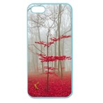 Magic Forest In Red And White Apple Seamless iPhone 5 Case (Color) Front