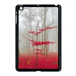 Magic Forest In Red And White Apple iPad Mini Case (Black) Front