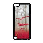 Magic Forest In Red And White Apple iPod Touch 5 Case (Black) Front