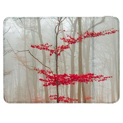 Magic Forest In Red And White Samsung Galaxy Tab 7  P1000 Flip Case by wsfcow