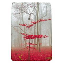 Magic Forest In Red And White Flap Covers (s)  by wsfcow