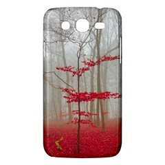 Magic Forest In Red And White Samsung Galaxy Mega 5 8 I9152 Hardshell Case  by wsfcow