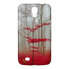 Magic Forest In Red And White Samsung Galaxy Mega 6 3  I9200 Hardshell Case by wsfcow