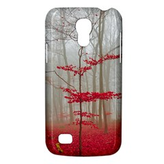 Magic Forest In Red And White Galaxy S4 Mini by wsfcow