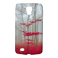 Magic Forest In Red And White Galaxy S4 Active by wsfcow