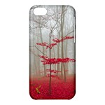 Magic Forest In Red And White Apple iPhone 5C Hardshell Case