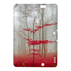 Magic Forest In Red And White Kindle Fire Hdx 8 9  Hardshell Case by wsfcow