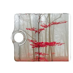 Magic Forest In Red And White Kindle Fire Hdx 8 9  Flip 360 Case by wsfcow