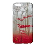 Magic Forest In Red And White Apple iPhone 6 Plus/6S Plus Hardshell Case