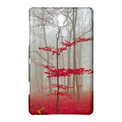 Magic Forest In Red And White Samsung Galaxy Tab S (8 4 ) Hardshell Case